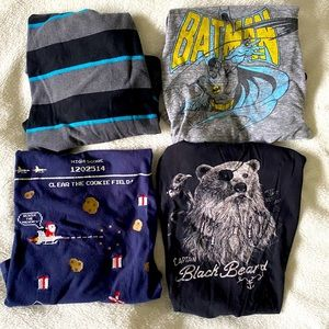 Lot of 4 boys shirts size 10-12